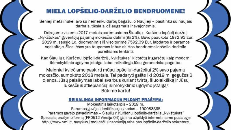 MIELA-LOPŠELIO-DARŽELIO-BENDRUOMENE
