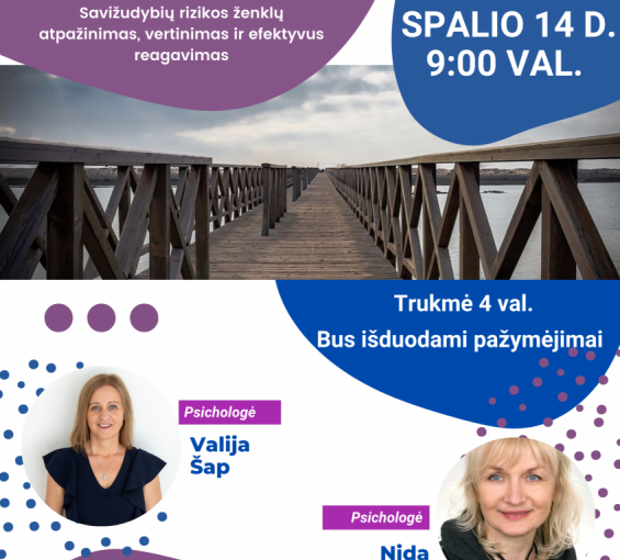 SPALIO 10 D. – PASAULINĖ PSICHIKOS SVEIKATOS DIENA