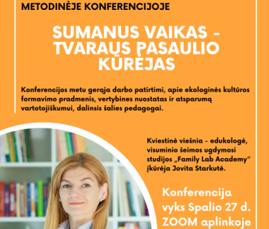Orange Photo Dynamic Frame Conference Church Poster (3)